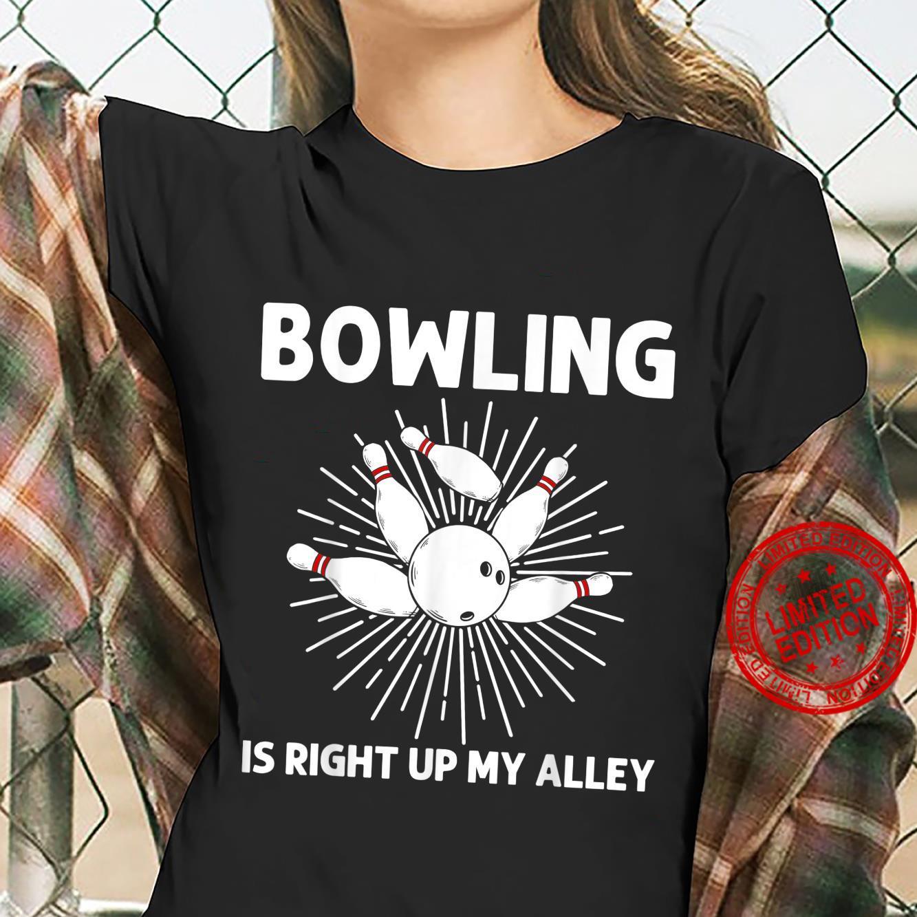 Cool Bowling Bowler Indoor Strike Game Shirt ladies tee