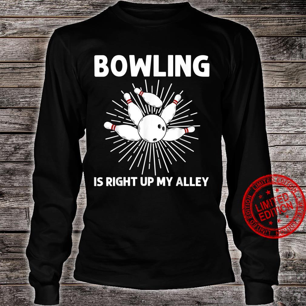 Cool Bowling Bowler Indoor Strike Game Shirt long sleeved