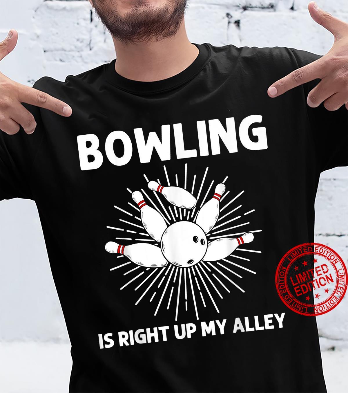 Cool Bowling Bowler Indoor Strike Game Shirt