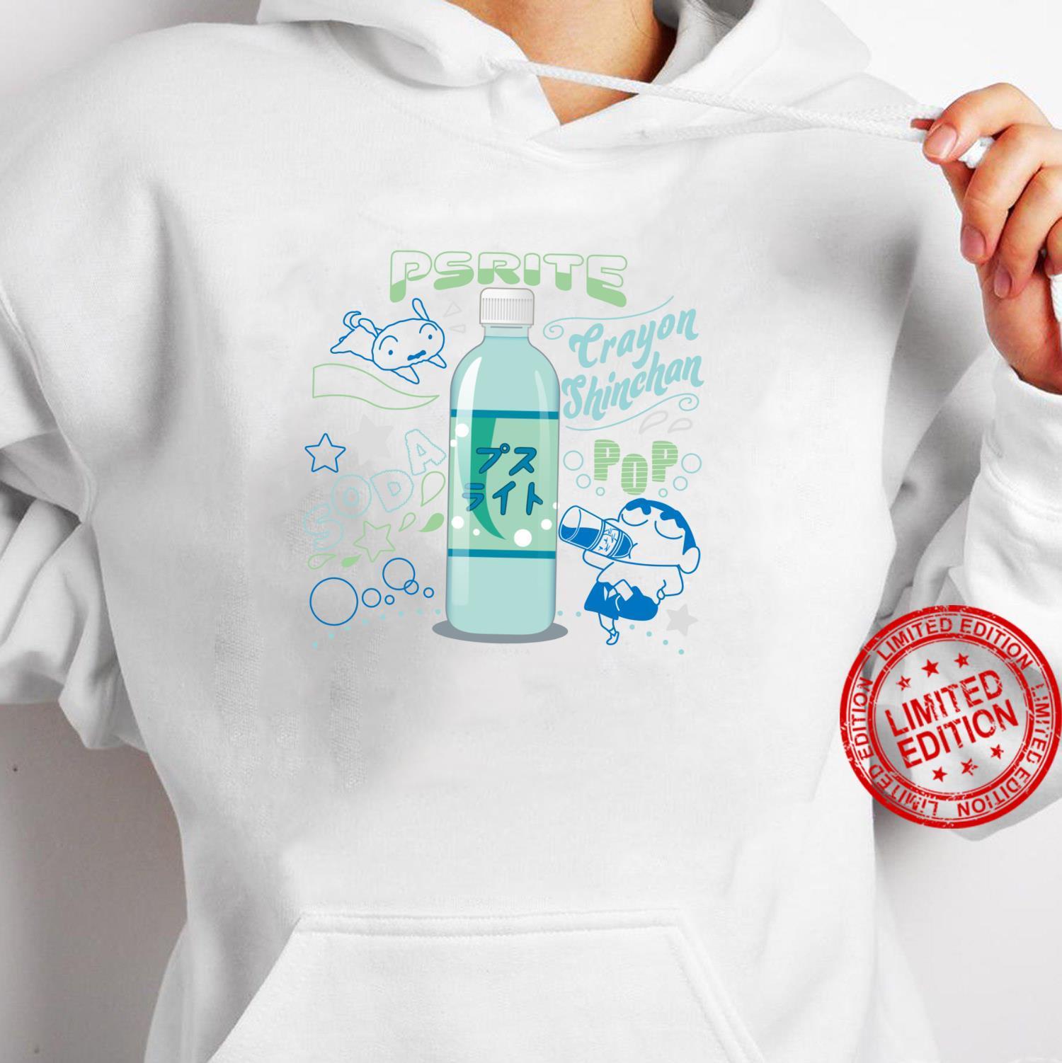 Crayon Shinchan Shinchan and Pusuraito Shirt hoodie