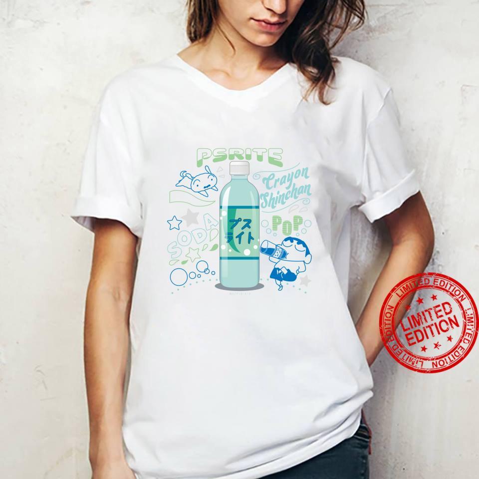 Crayon Shinchan Shinchan and Pusuraito Shirt ladies tee