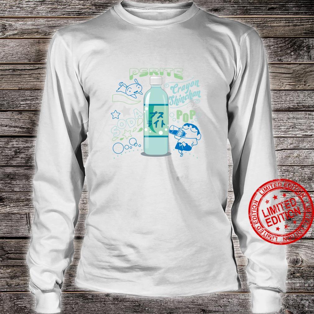 Crayon Shinchan Shinchan and Pusuraito Shirt long sleeved
