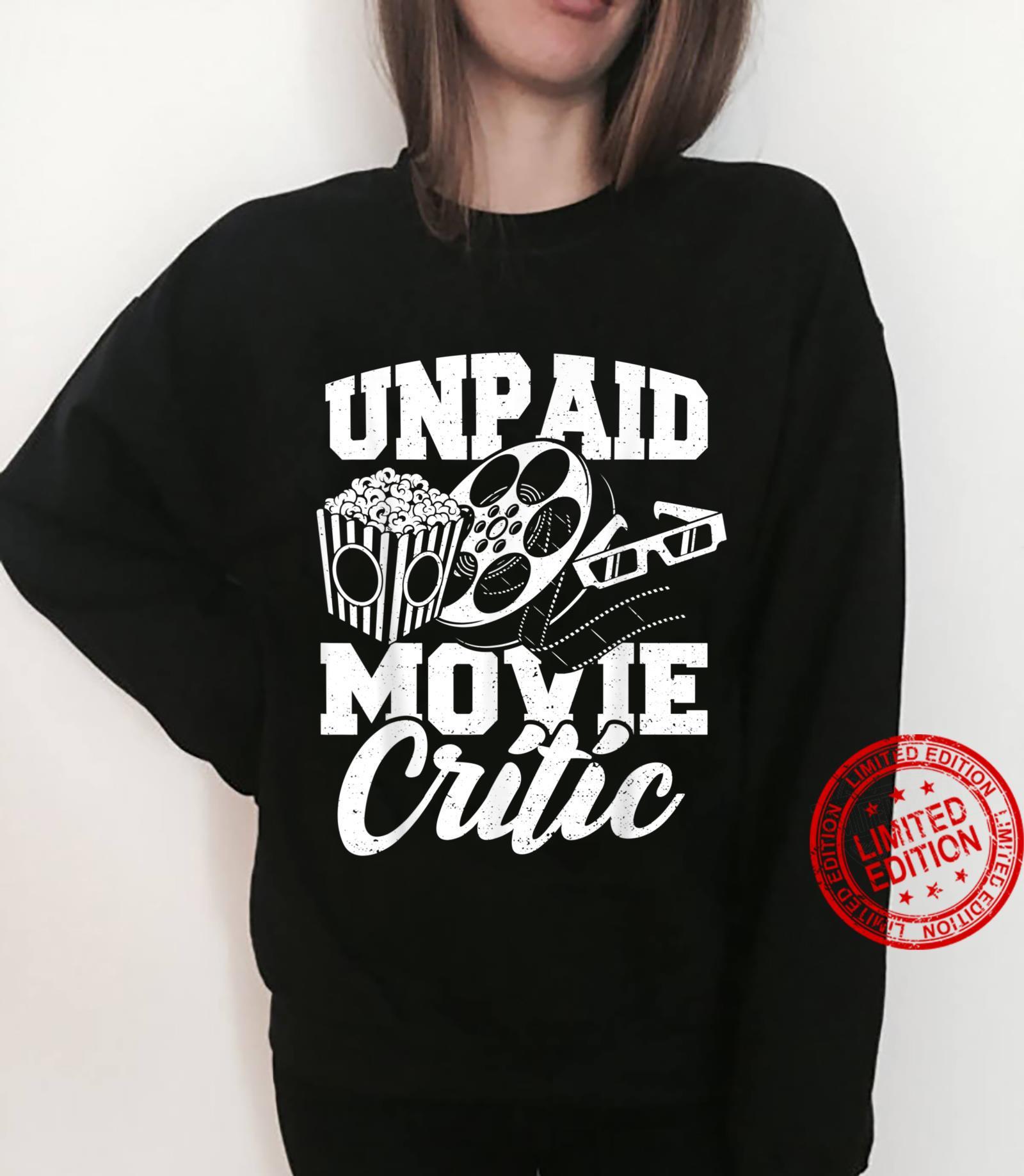 Critic Unpaid Movie Critic Movies Shirt sweater