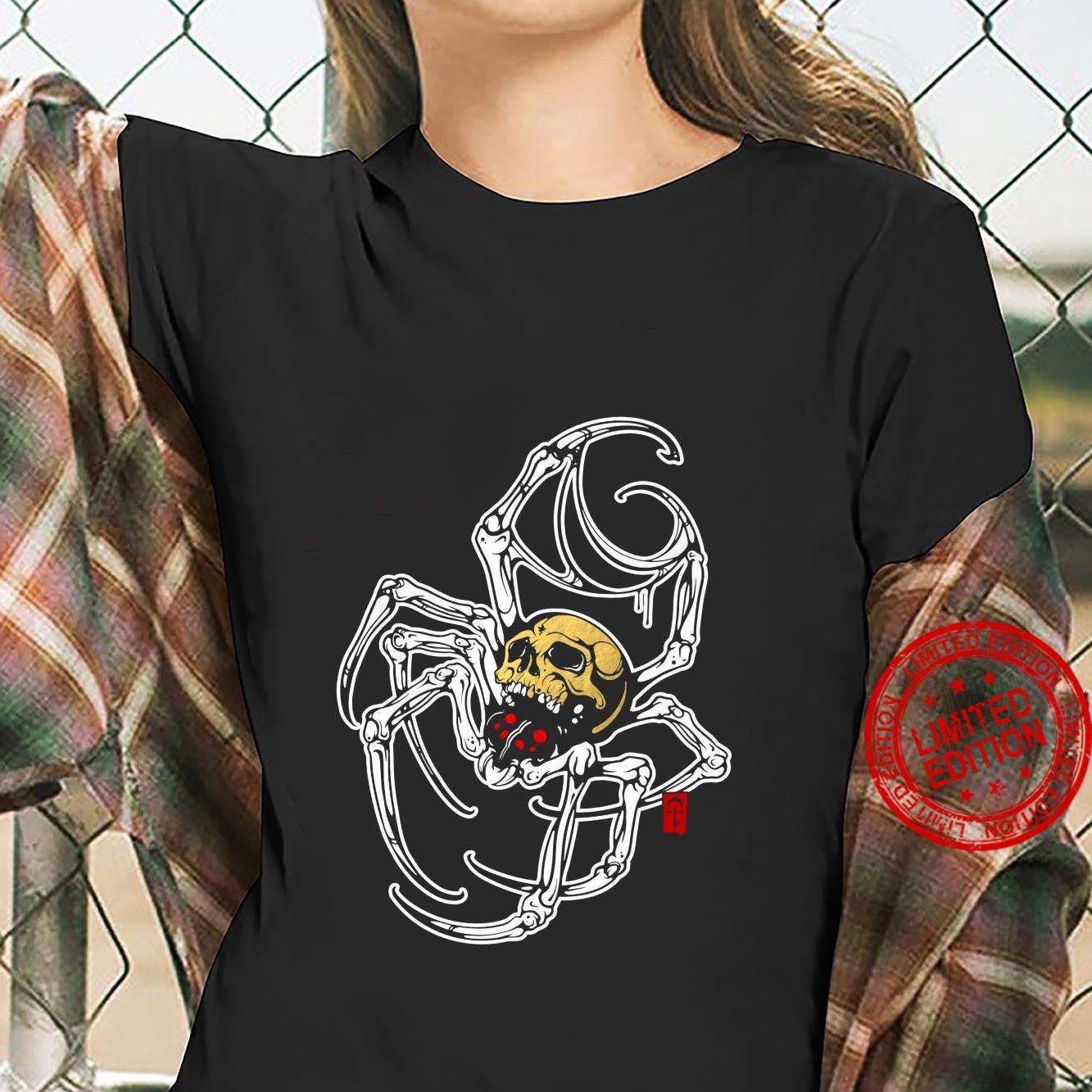 Death Spider Shirt ladies tee