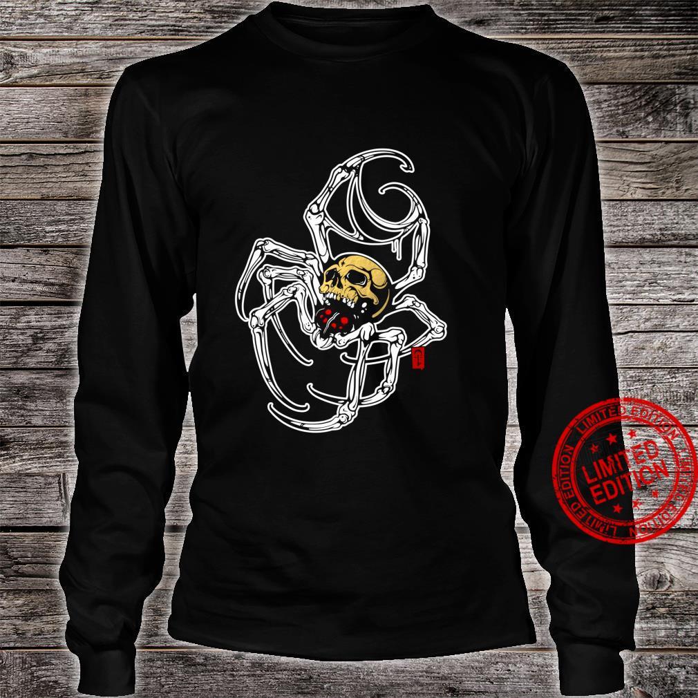 Death Spider Shirt long sleeved
