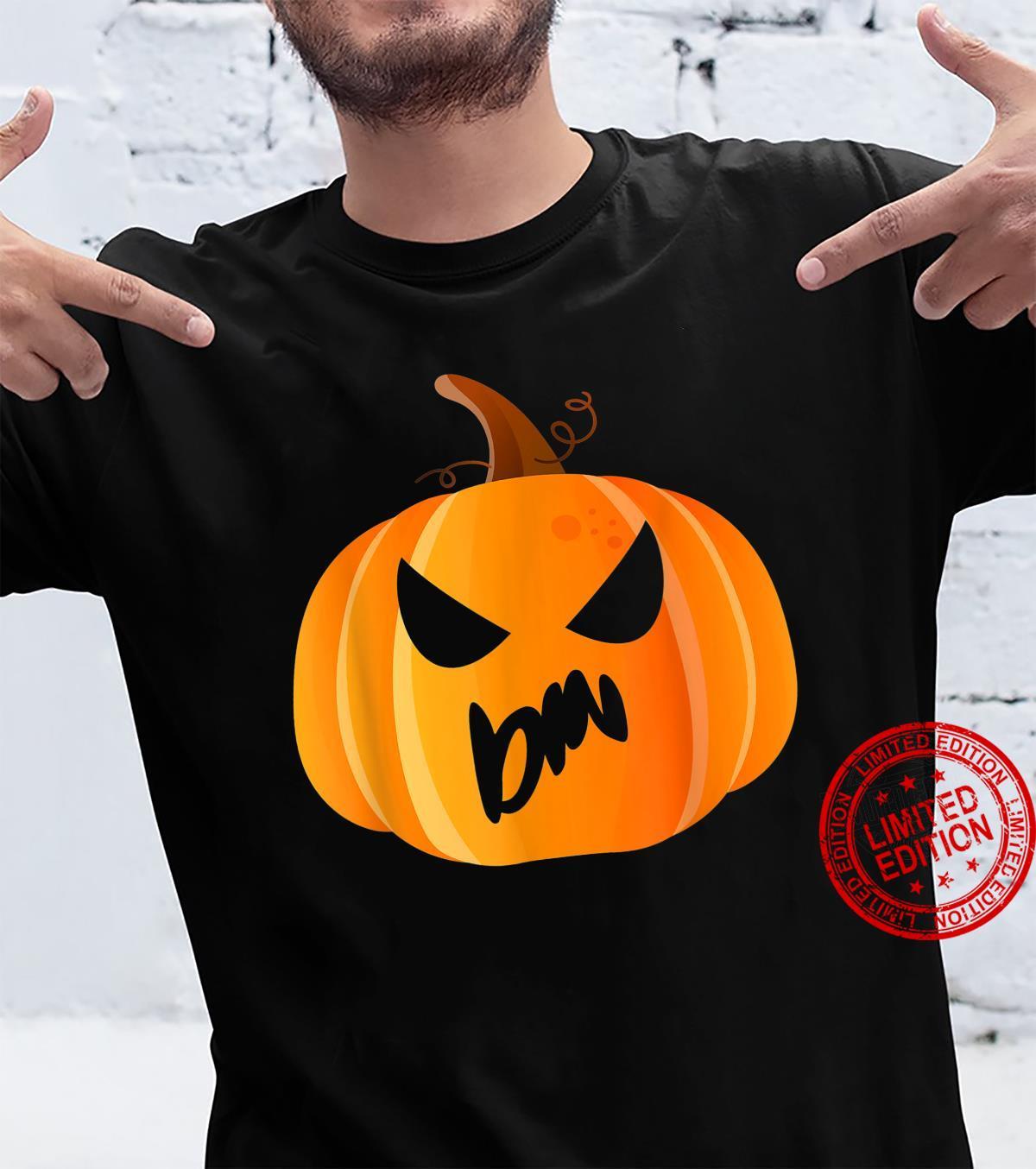 Din Name Custom Pumpkin Personalized Halloween Shirt