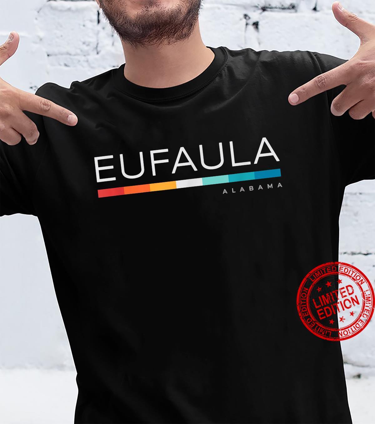 Eufaula AL Alabama Retro Design Shirt