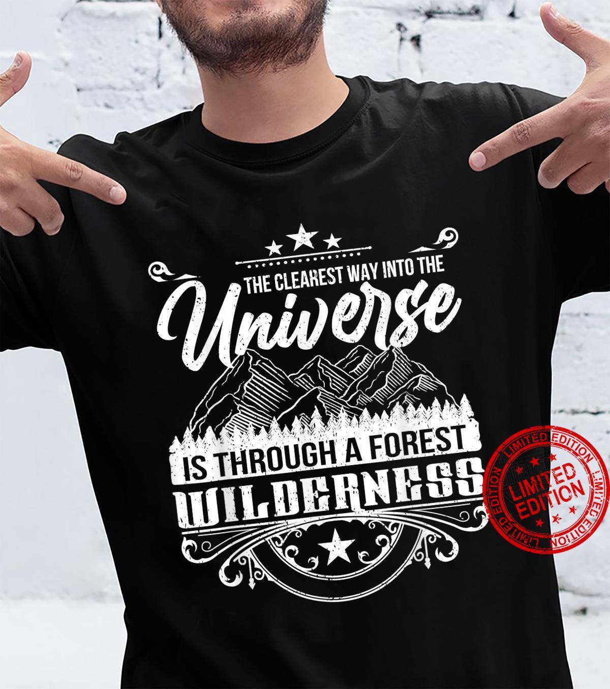 Funny Camping Wilderness Explorer Nature Shirt