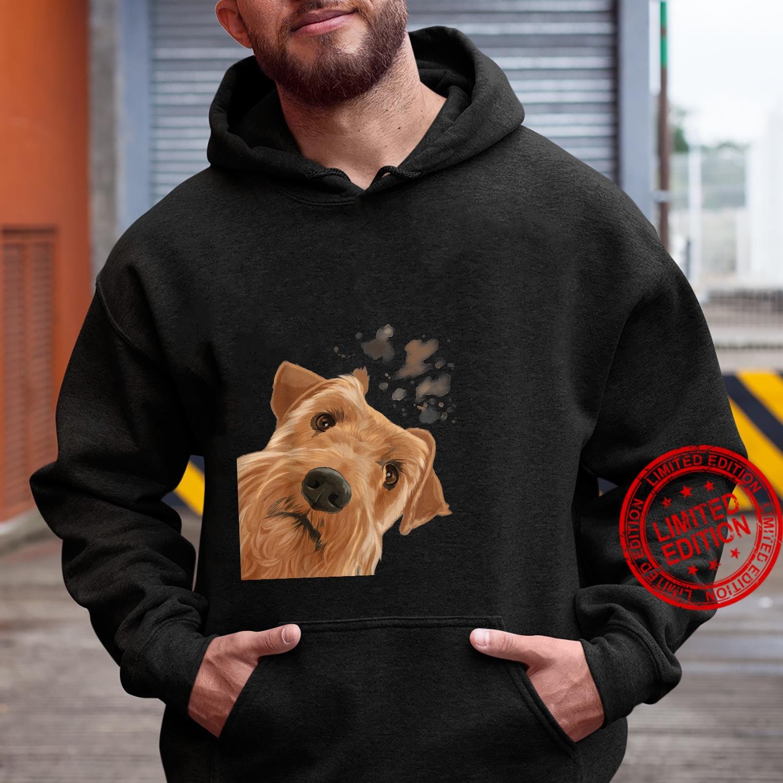Funny Curious Dog Irish Terrier Shirt hoodie
