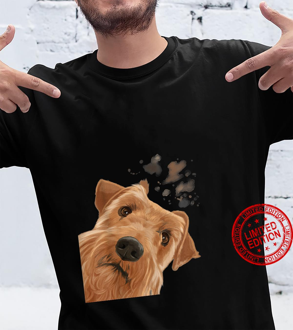 Funny Curious Dog Irish Terrier Shirt