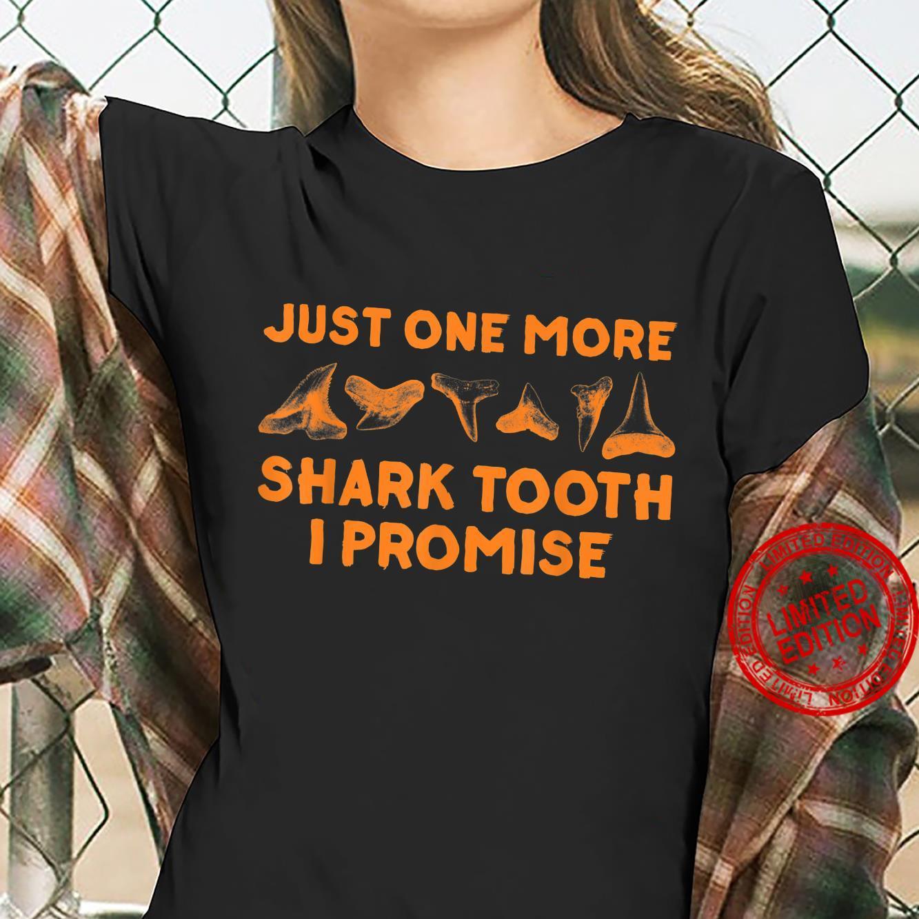 Funny Fossil Sharkth Paleontologists Shirt ladies tee