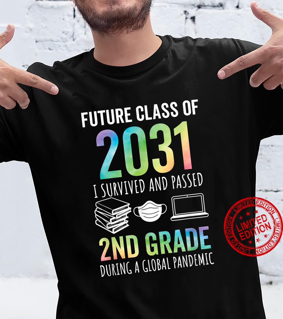 Future Class of 2031 2nd Grade Graduation 2021 Shirt