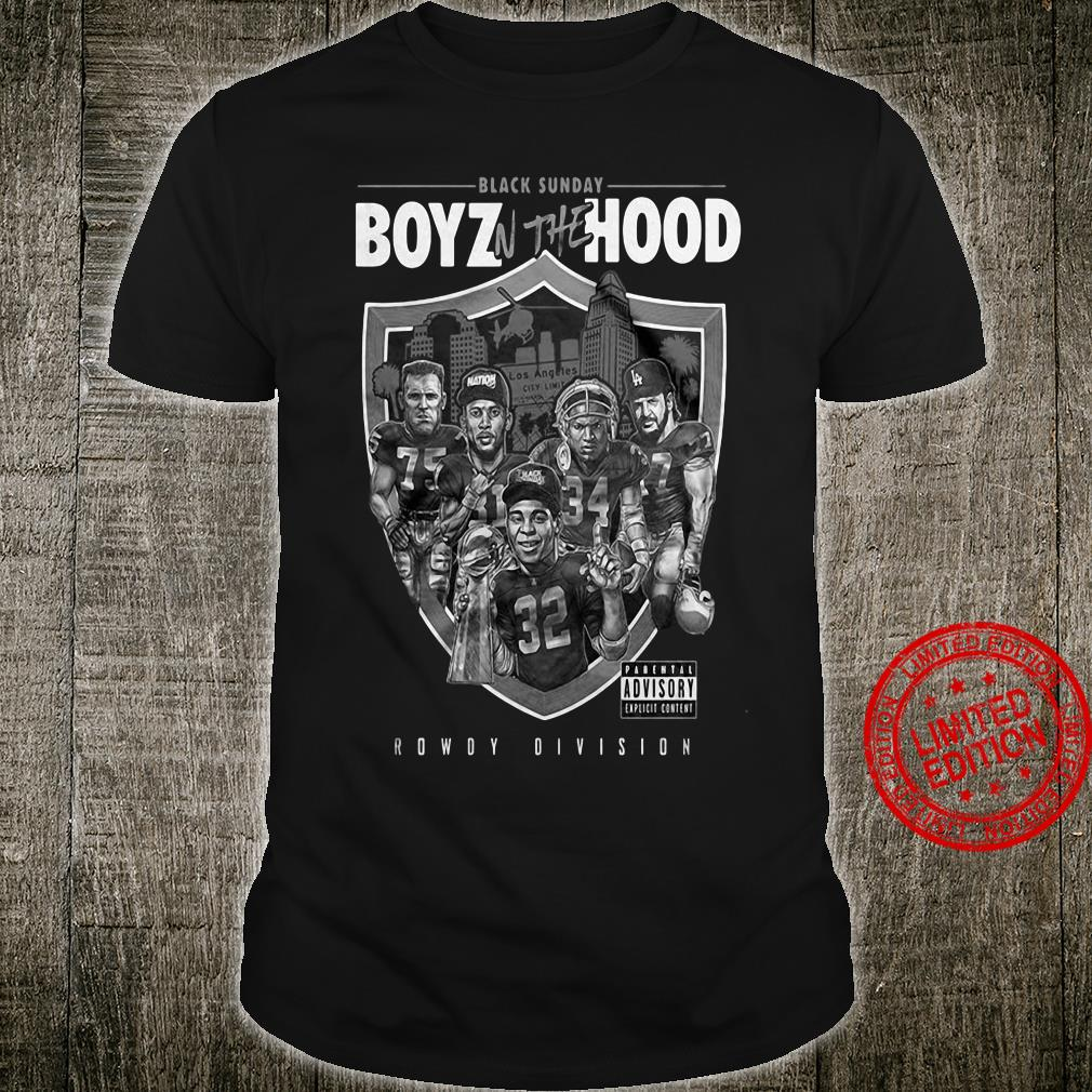 Las Vegas Raiders Boys N Da Hood Shirt