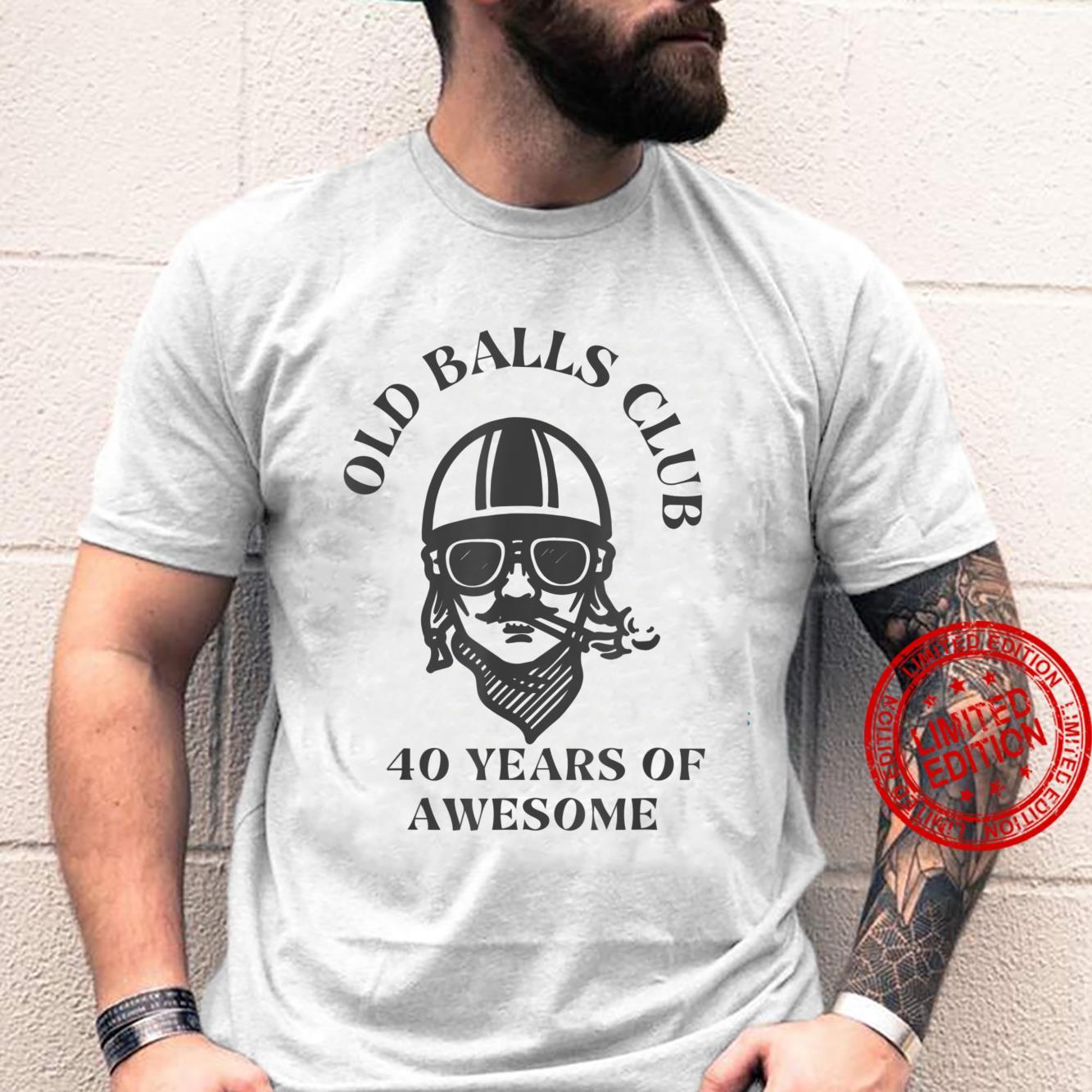 Old Balls Club 40th Birthday, Dad Turning 40 Shirt