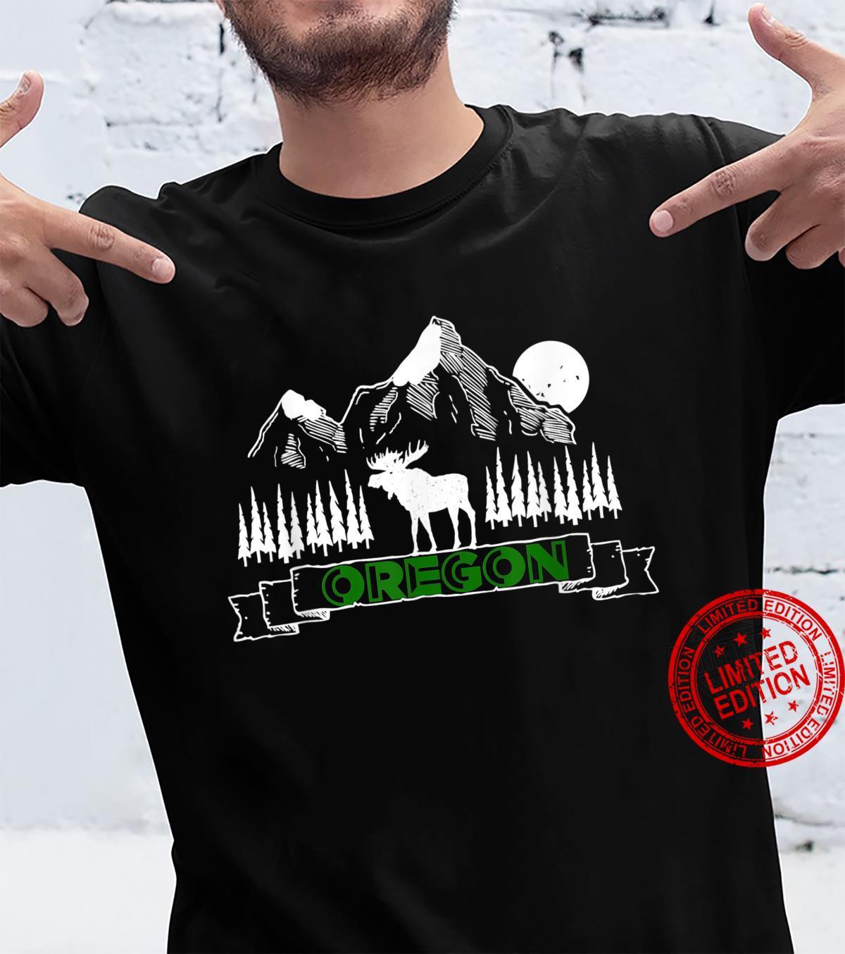 Oregon mountains bull elk souvenir Shirt