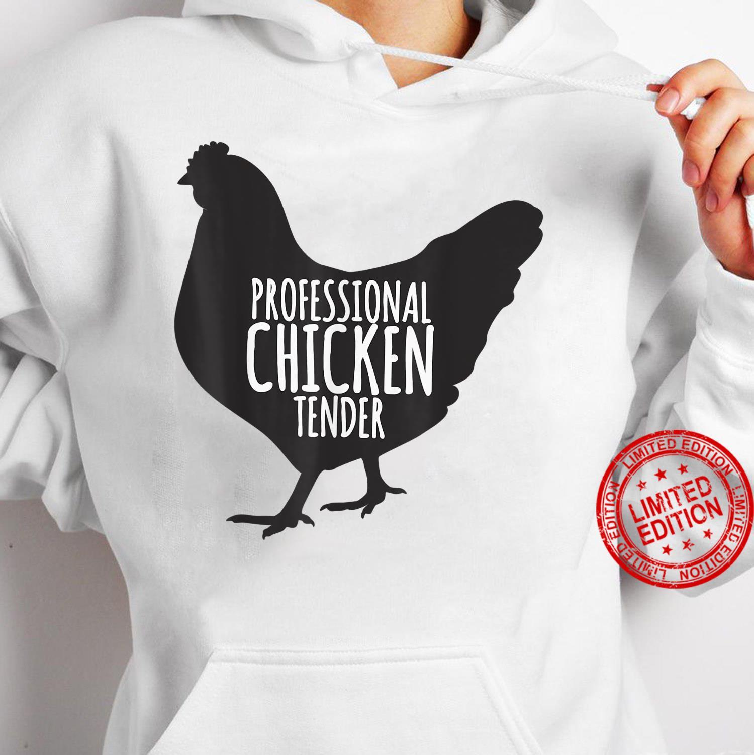 Professional Chicken Tender Chicken Lady Silhouette Shirt hoodie