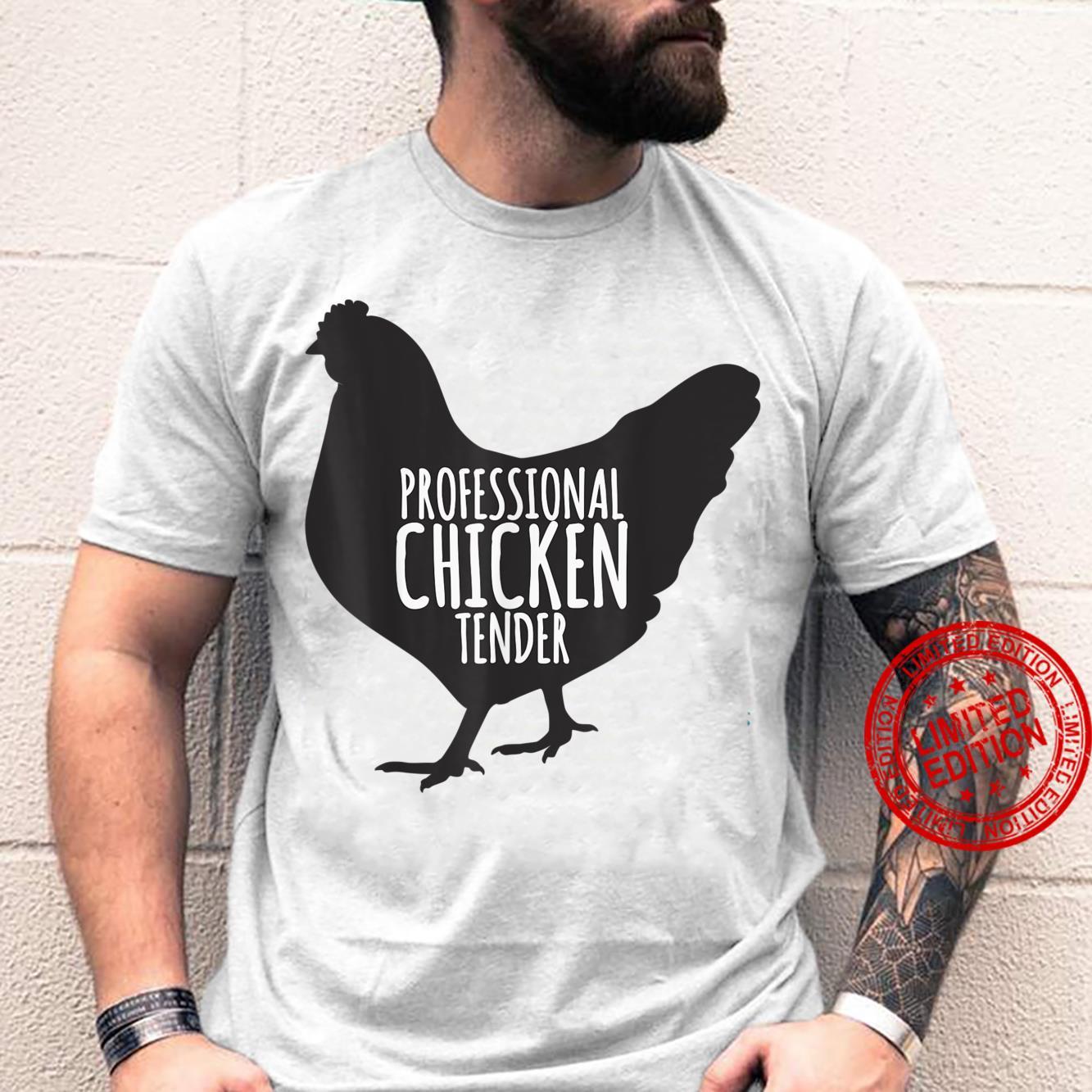 Professional Chicken Tender Chicken Lady Silhouette Shirt