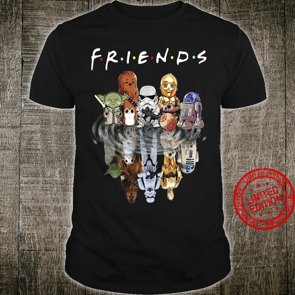 Star Wars friends in the wate