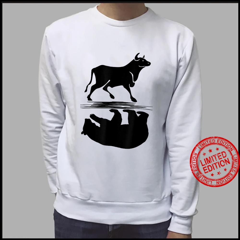 Stock Market Bull Bear Investing Trading Money Cash Shirt sweater