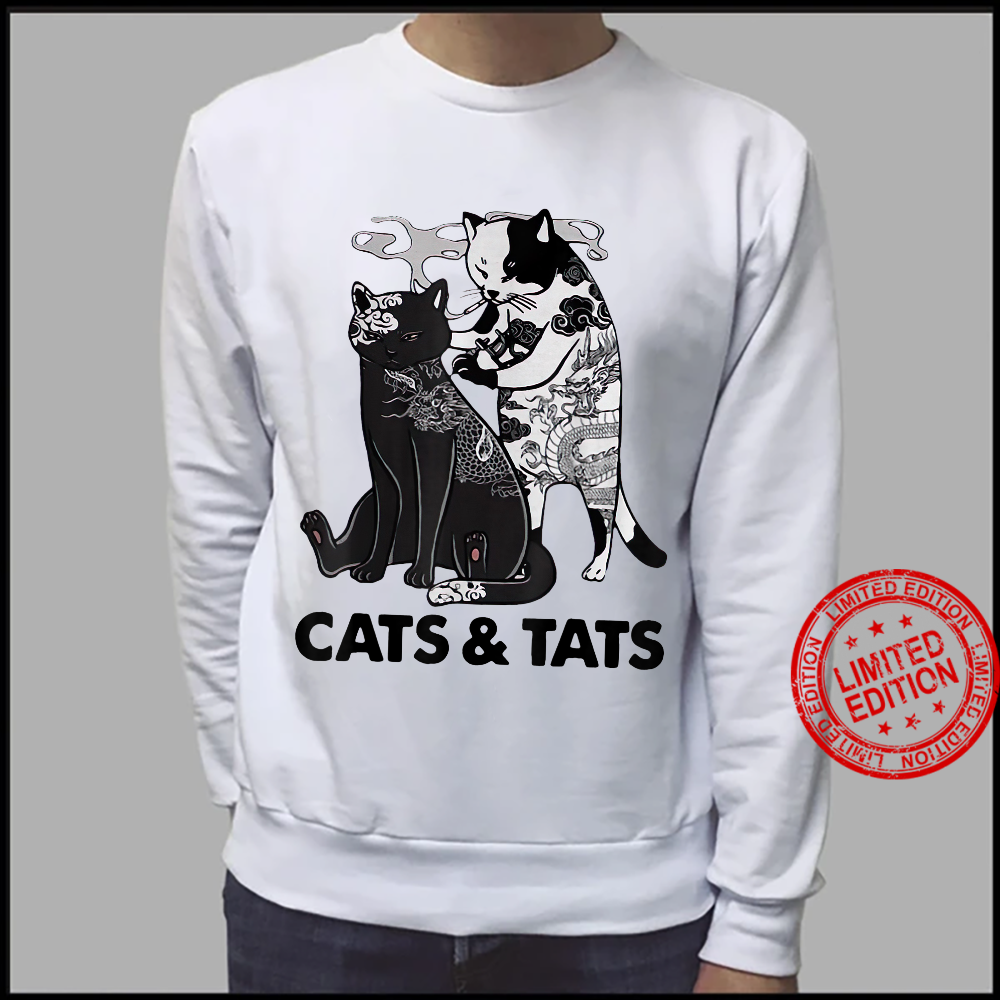 Tattoos Cats And Tats Kitty Pet Owner Shirt sweater