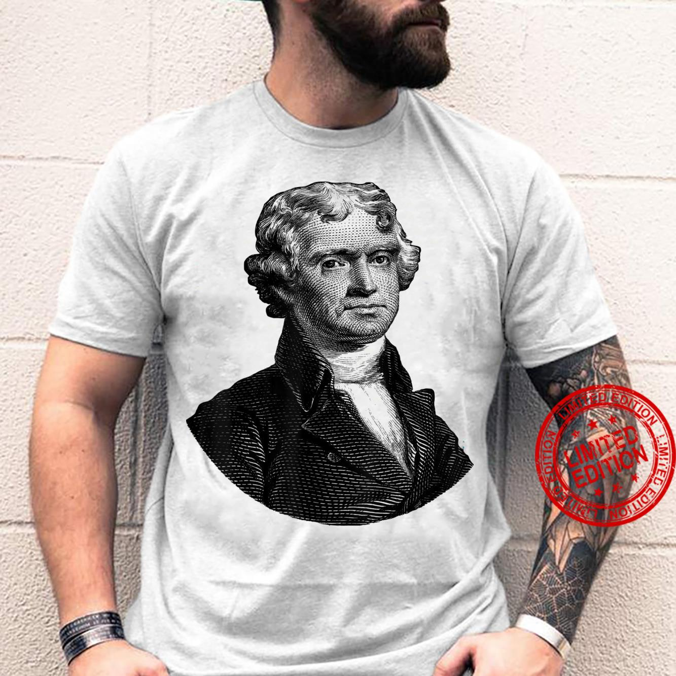 Thomas Jefferson Face Shirt