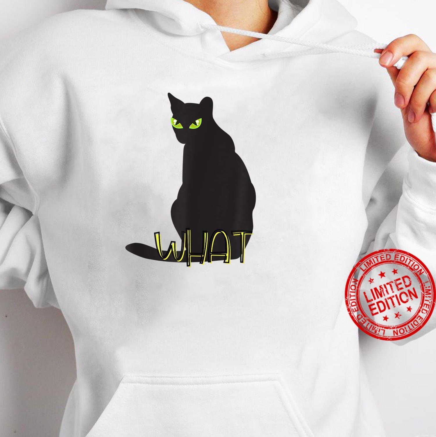 What Cat Shirt hoodie