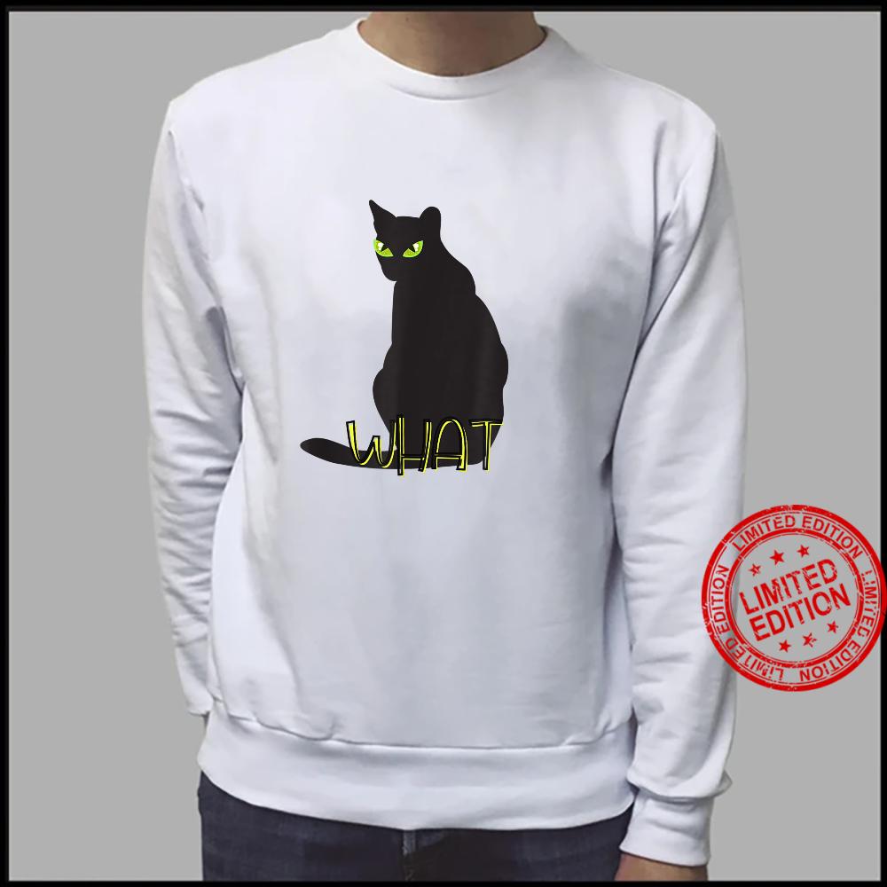 What Cat Shirt sweater