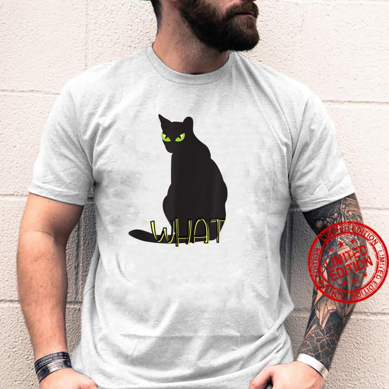 What Cat Shirt