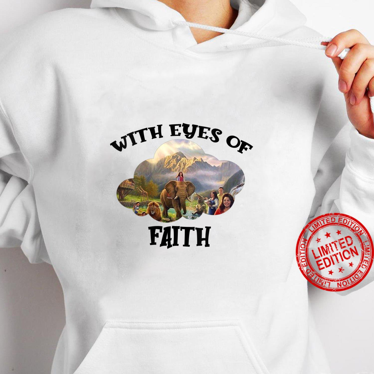 Womens JW Convention 2021 Jehovah's Witness With Eyes Of Faith JW Shirt hoodie
