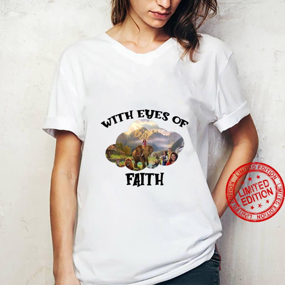 Womens JW Convention 2021 Jehovah's Witness With Eyes Of Faith JW Shirt ladies tee
