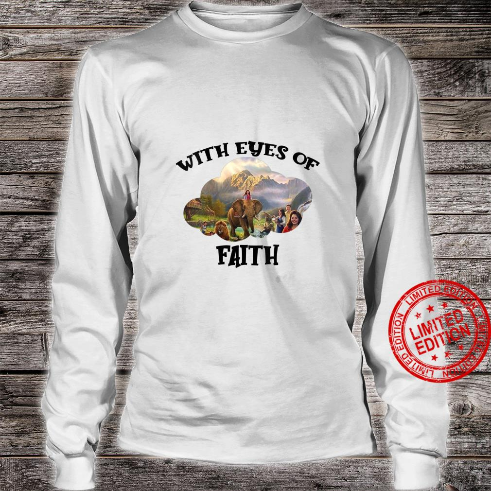 Womens JW Convention 2021 Jehovah's Witness With Eyes Of Faith JW Shirt long sleeved