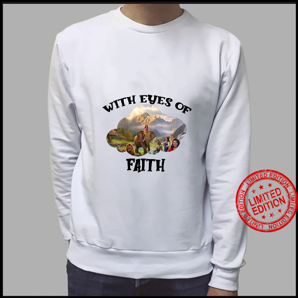 Womens JW Convention 2021 Jehovah's Witness With Eyes Of Faith JW Shirt sweater