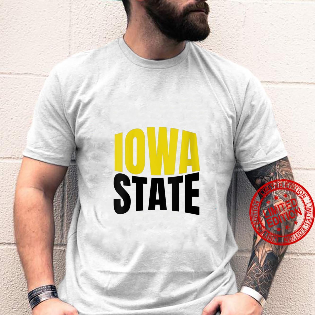 Womens State Of Iowa Travel Shirt
