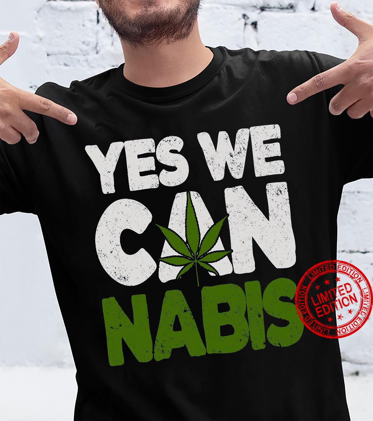 Yes We Can Nabis shirt