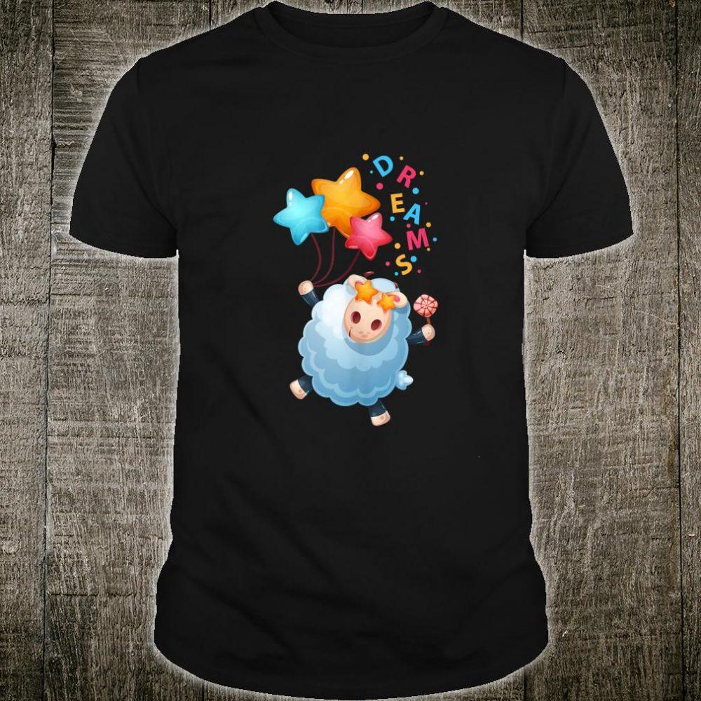 Cute Lamb Catching Dreams Shirt