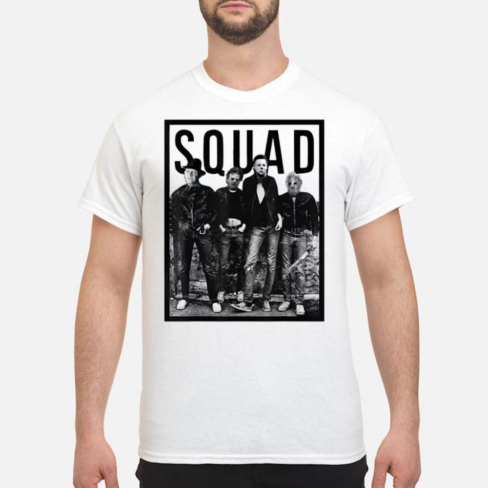 Halloween Squad Horror Shirt
