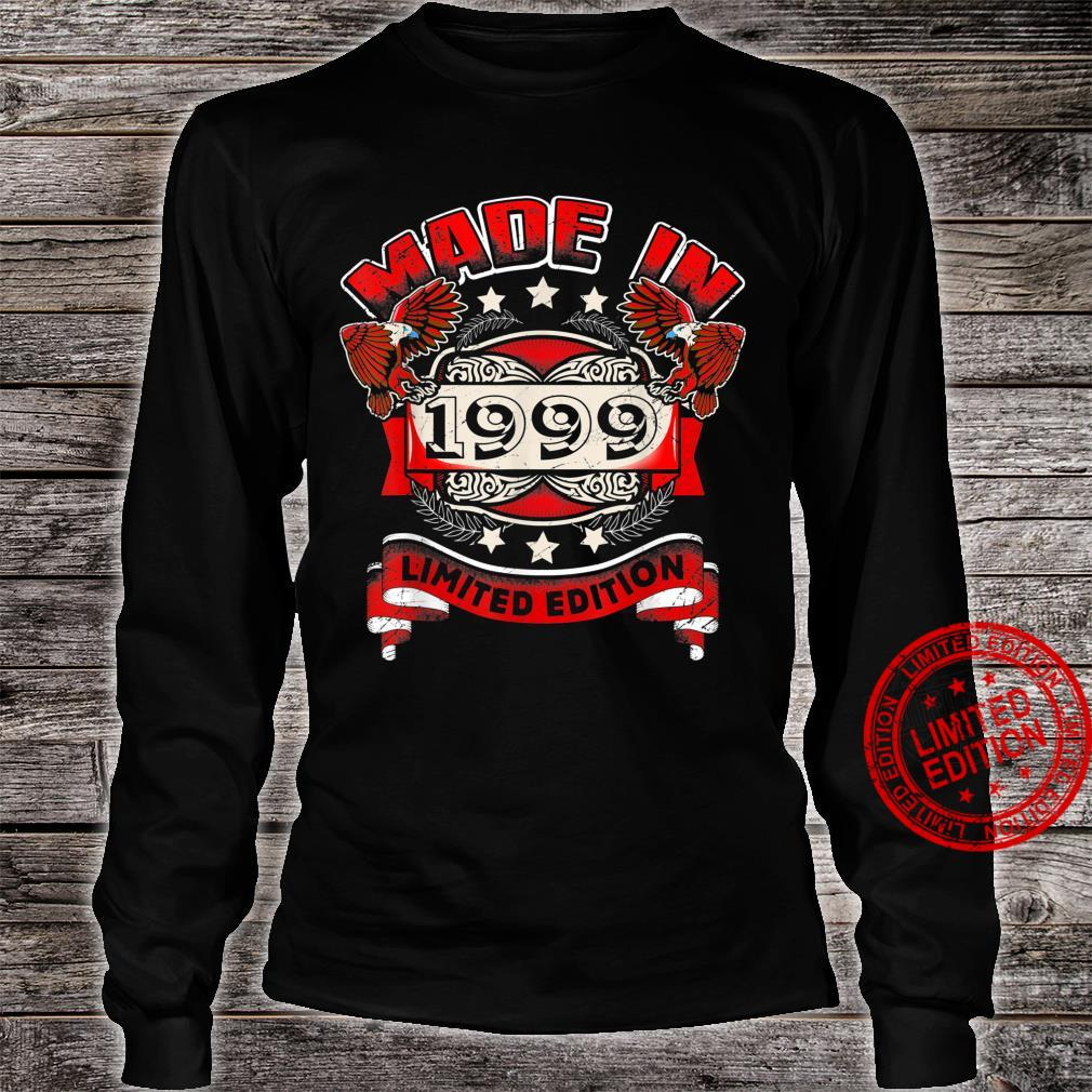 Made In 1999 Vintage 21st Birthday Limited Edition Shirt long sleeved