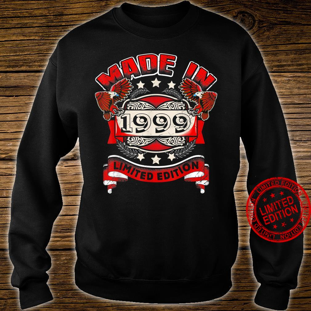 Made In 1999 Vintage 21st Birthday Limited Edition Shirt sweater