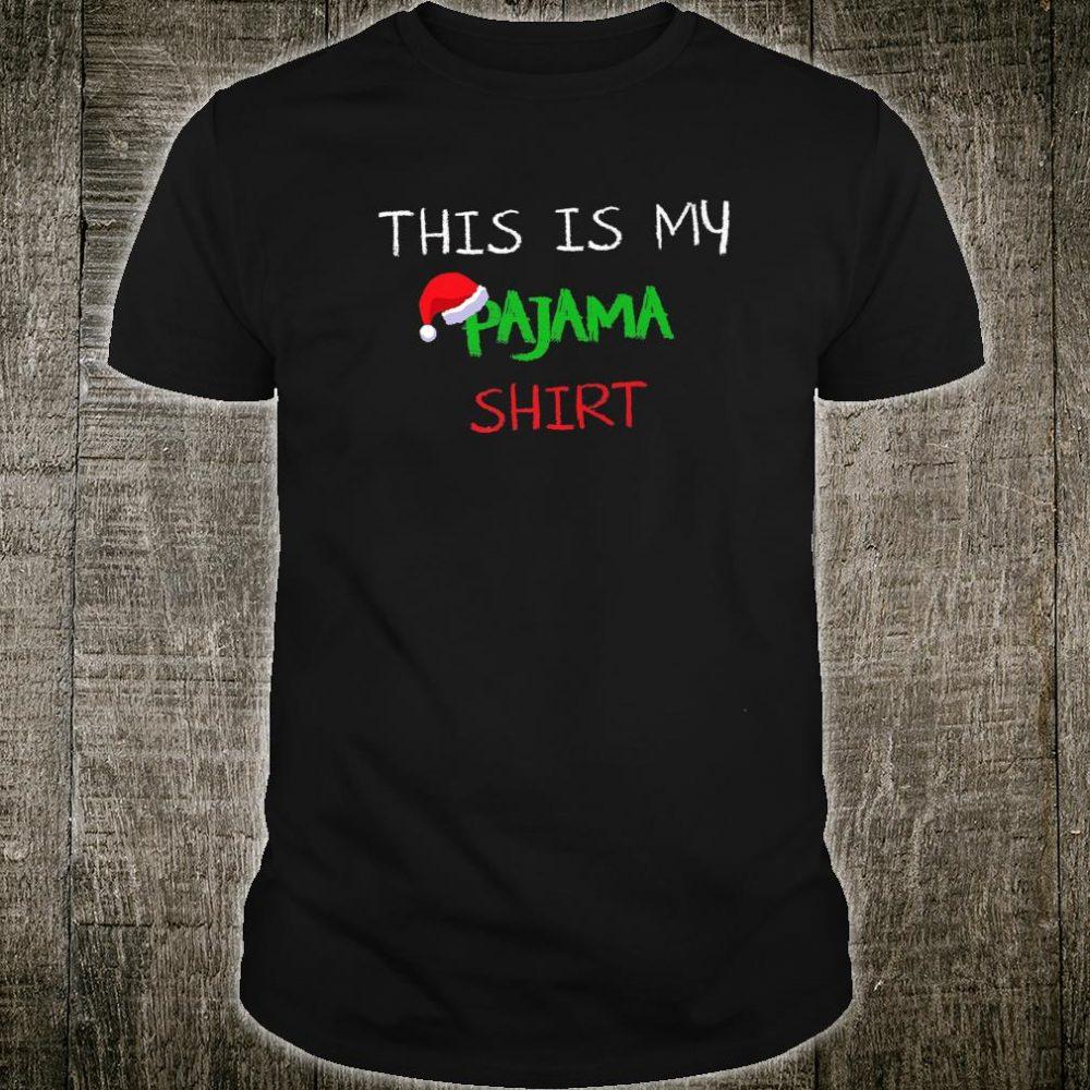 My Christmas Pajamas Cool Pjs Shirt