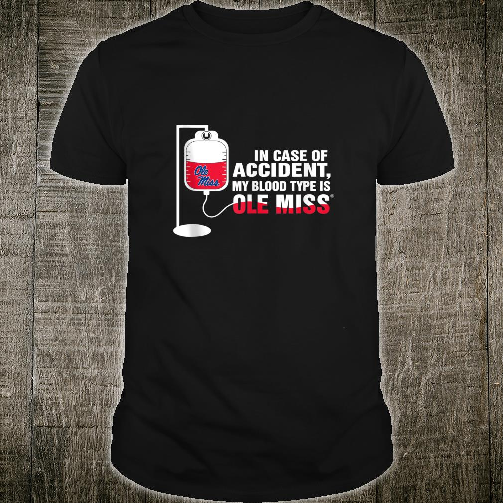 Ole Miss Rebels 179 In Case Of Accident Tailgate Shirt
