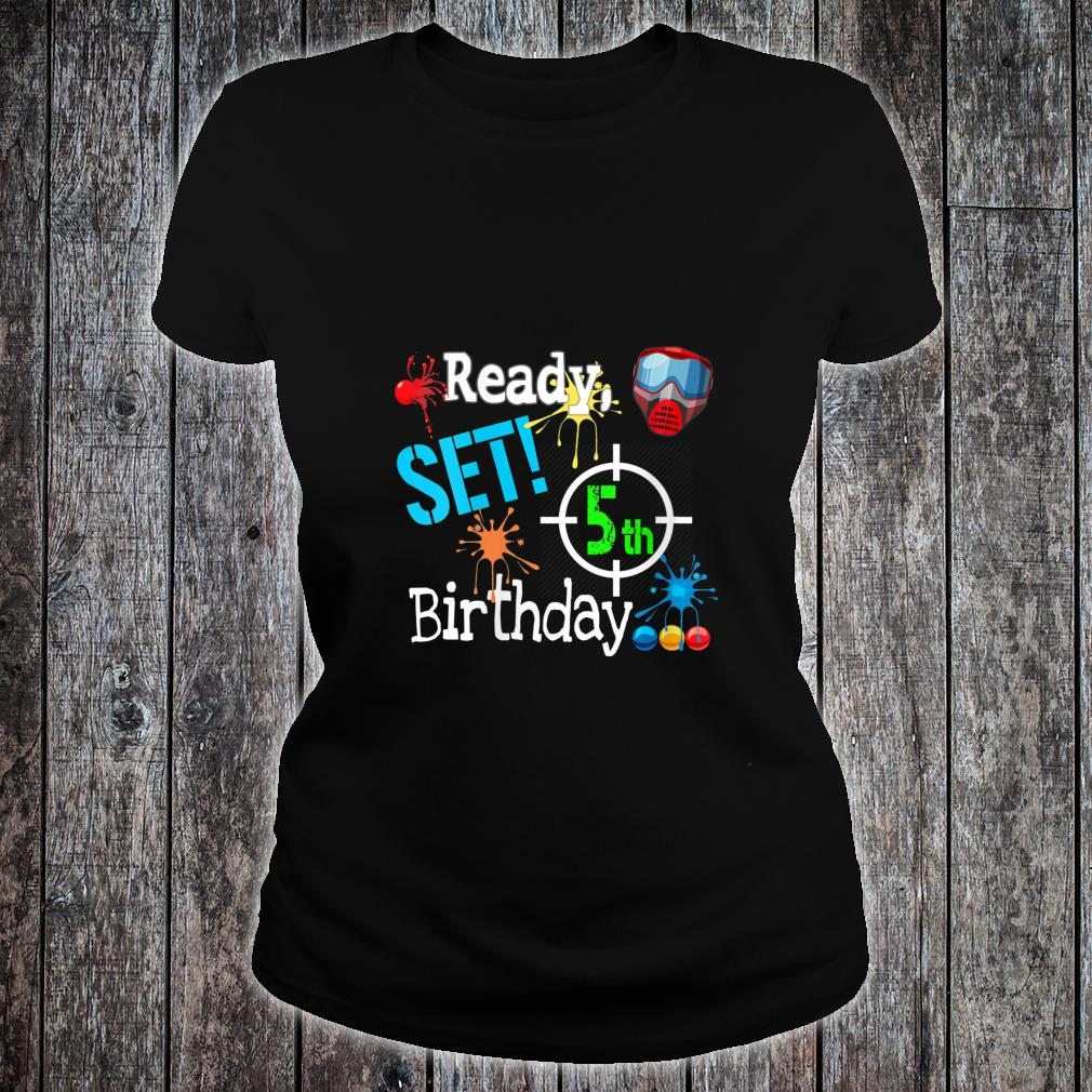 Paintball Birthday Outdoor Party Outfit Paintballing Shirt ladies tee