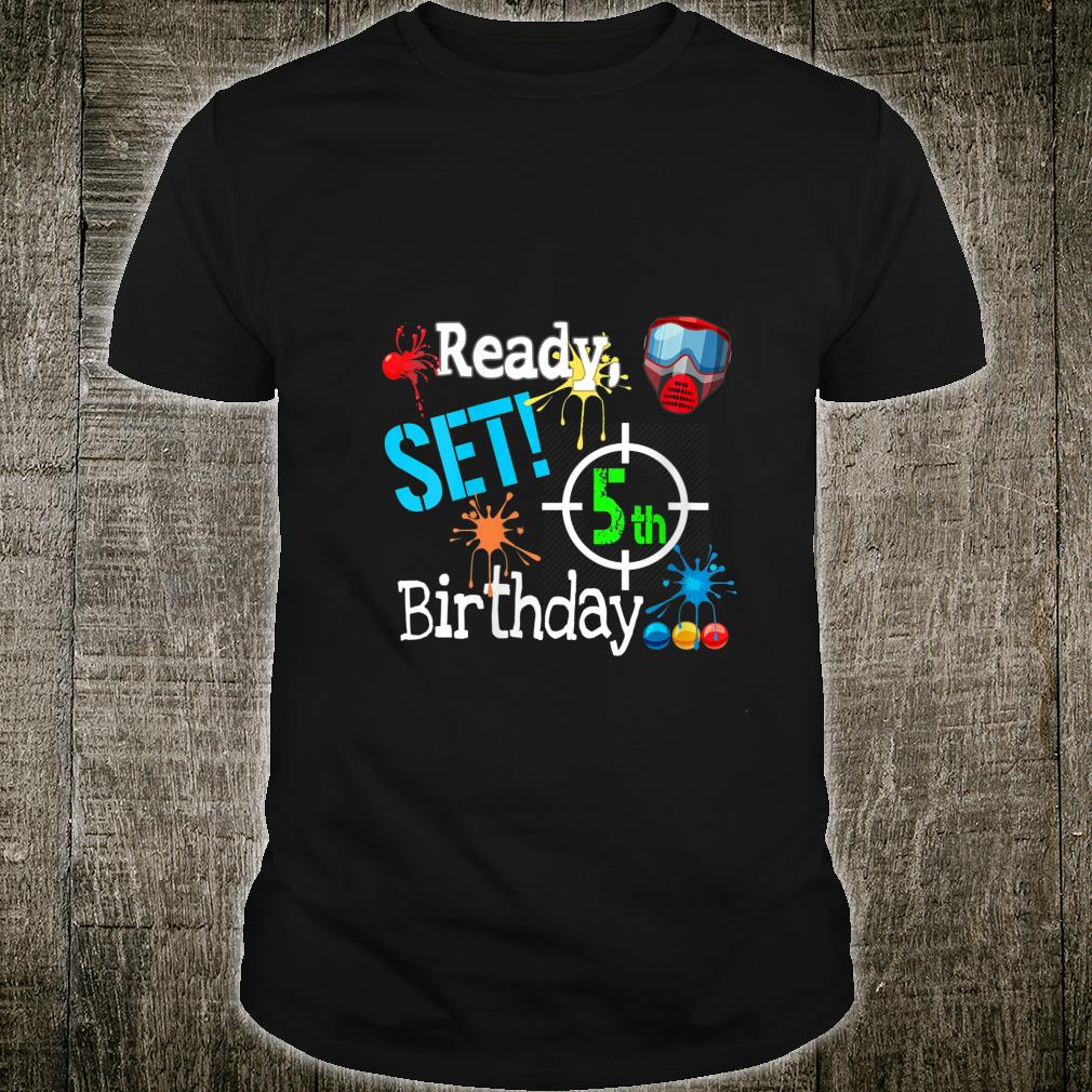 Paintball Birthday Outdoor Party Outfit Paintballing Shirt