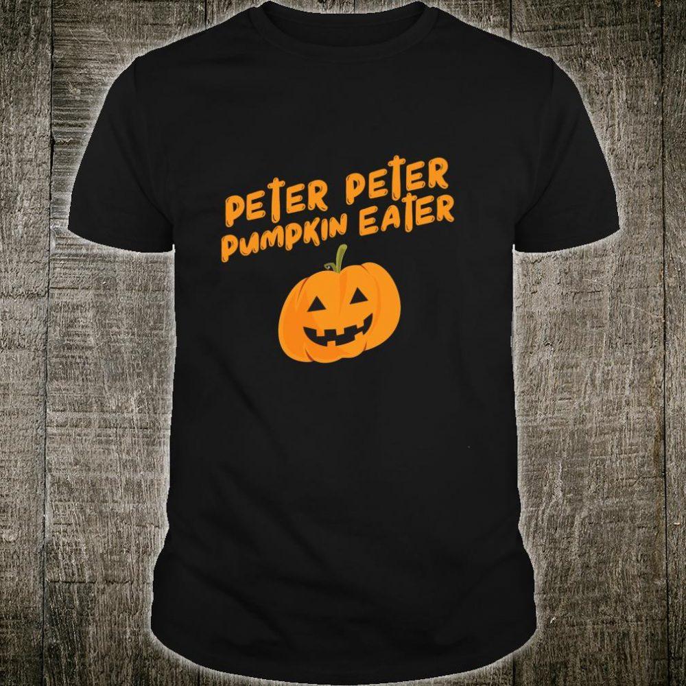 Peter Pumpkin Eater Couples Halloween Costume Shirt