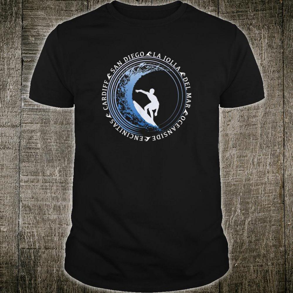 San Diego Surf Shirt San Diego Beach Shirt