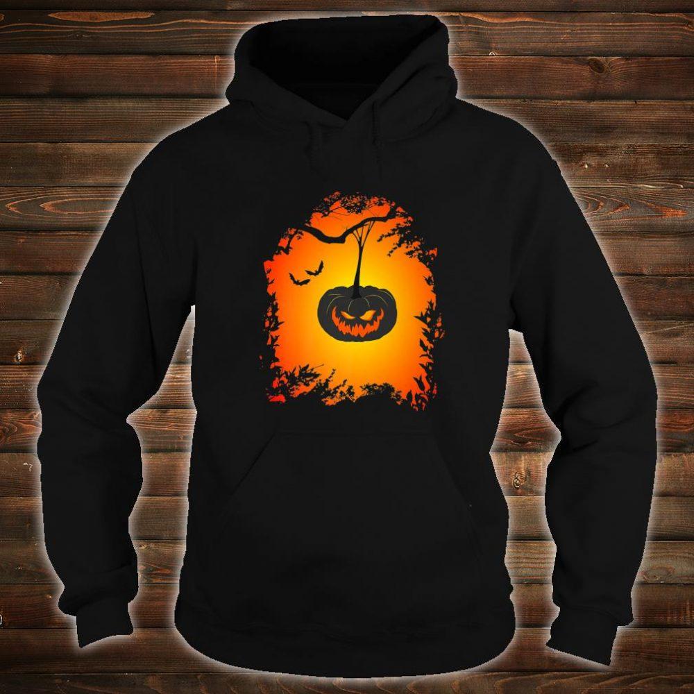 Scary Halloween haunted pumpkin Shirt hoodie