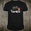 Sloth Tamer Animal Training Circus Lover Domesticating Shirt