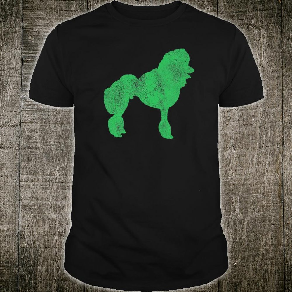 St. Patrick's Day Dog Pet Poodle Irish Green Shamrock Shirt