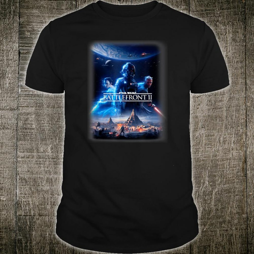 Star Wars Battlefront II Rey Darth Maul Poster Shirt