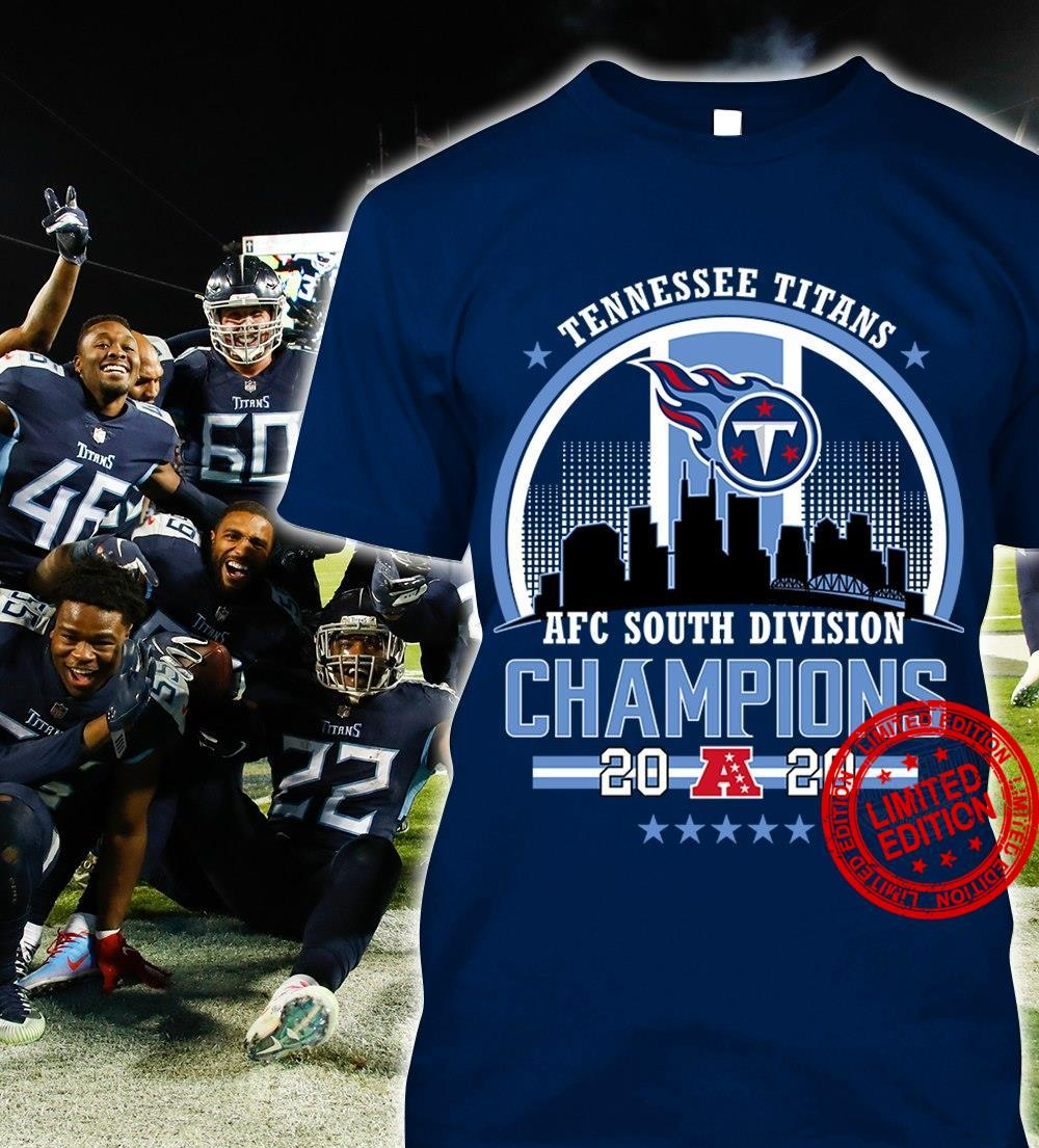 Tennessee Titans AFC South Division Champions Shirt