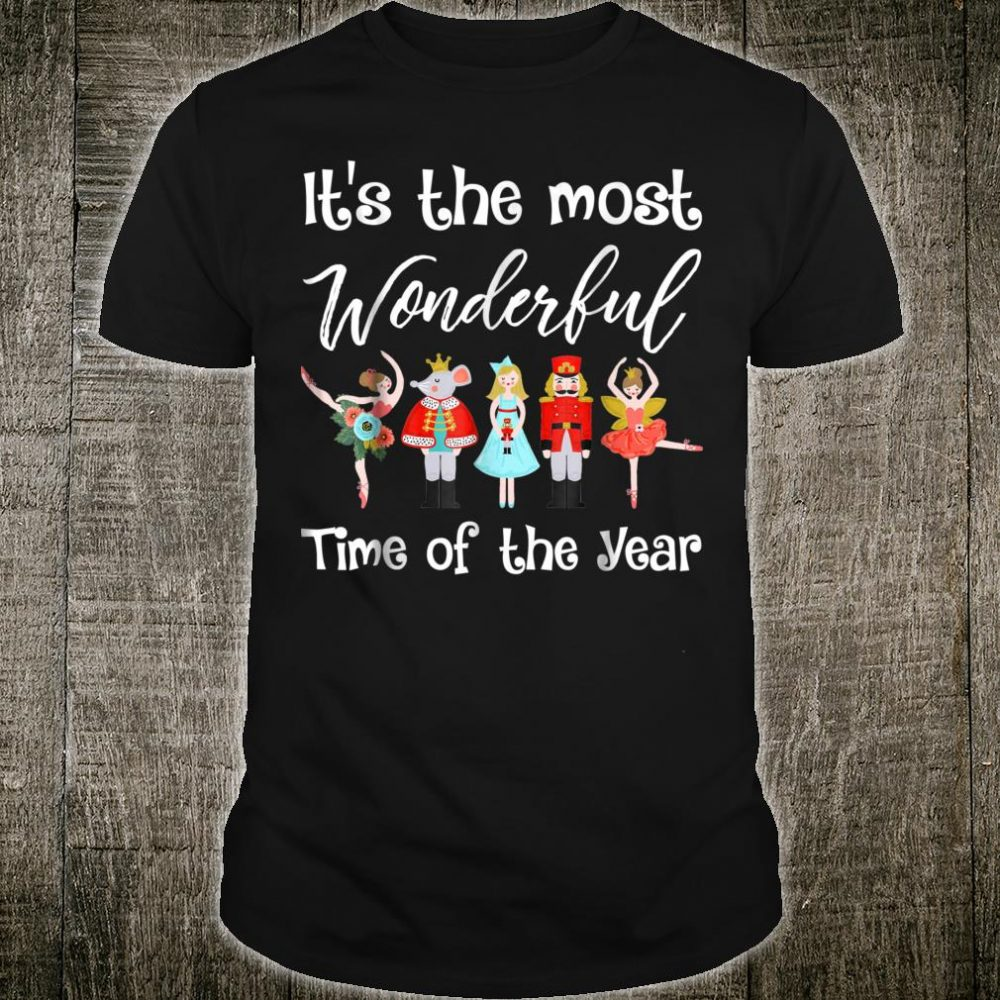 Official The Nutcracker Ballet Christmas Dance Shirt Hoodie Tank Top And Sweater
